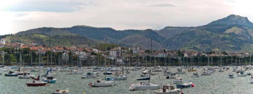 Le port d'Hondarribia.