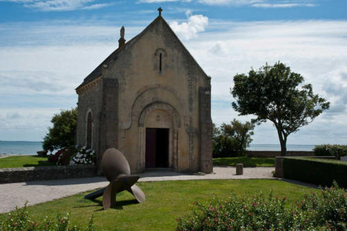 Saint Vaast la Hougue, la chapelle.
